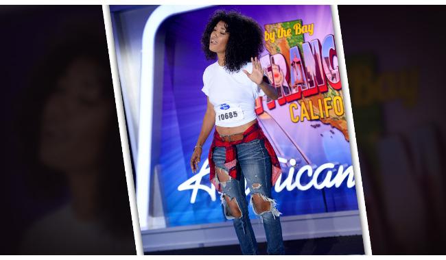 Arenesa Turner American Idol 2014 Audition San Francisco
