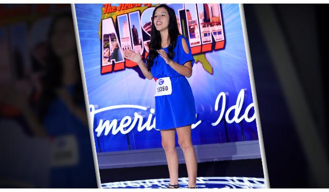 Ariel Herrera American Idol 2014 Audition Austin