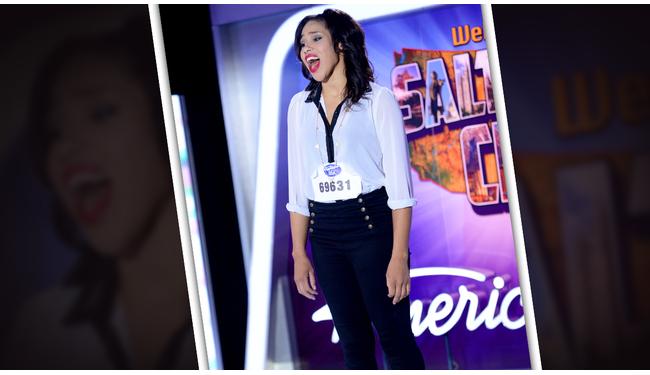 Carmen Delgina American Idol 2014 Audition