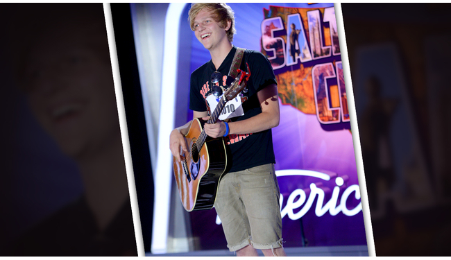 D. J. Bradley American Idol 2014 Audition