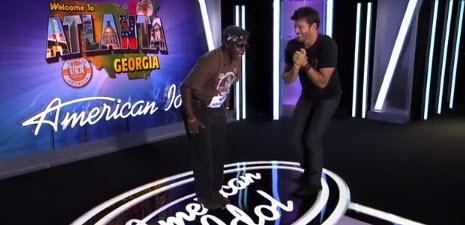 General Larry Platt Pants on the Ground American Idol 2014 Audition  -Source: FOX
