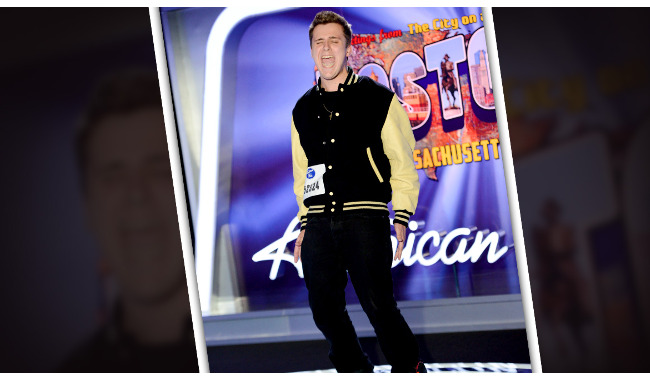 James McHugh American Idol 2014 Audition Boston