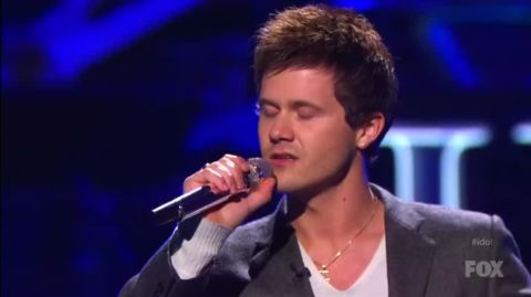 Josh Holiday on American Idol season 13 - Source: FOX