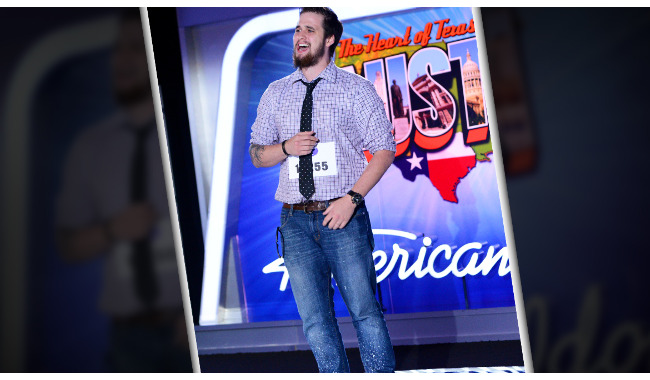 Ryan Clark American Idol 2014 Audition Austin