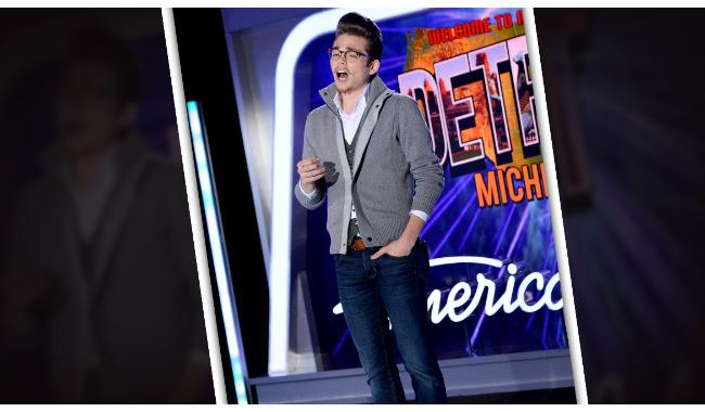 Ryan Nisbett American Idol 2014 Auditions Detroit