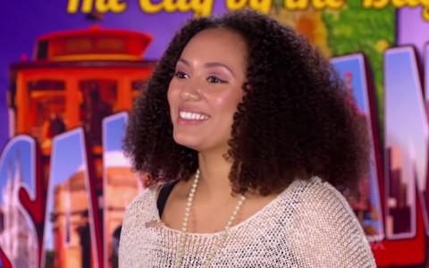 Briana Oakley auditions on American Idol