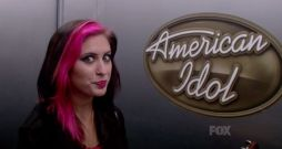 Jessica Meuse prepare to audition