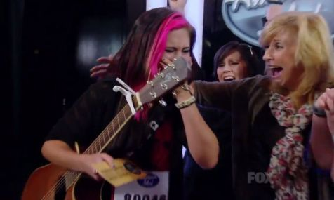 Jessica Meuse gets her Golden Ticket