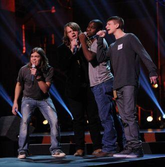 Groups perform in Hollywood Week 02