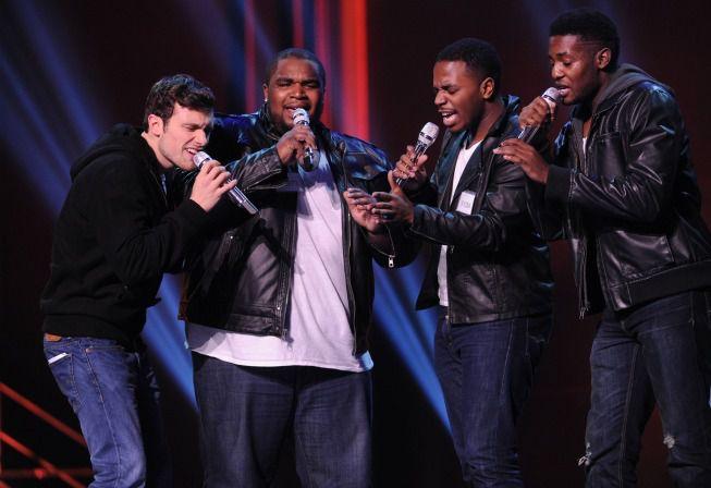 Groups perform in Hollywood Week 05