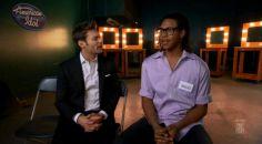 Savion Wright with Ryan Seacrest