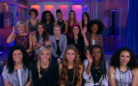American Idol 2014 Top 15 Girls