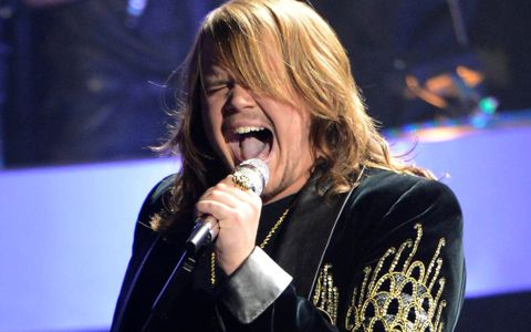 Caleb Johnson performs on American Idol