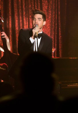 Adam Lambert Glee Trio Photos 10