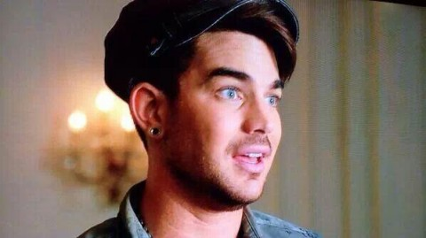 Adam Lambert Glee Trio Photos 9