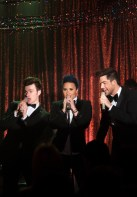 Adam Lambert Glee Trio Photos