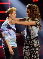 Emily Piriz and MK on American Idol
