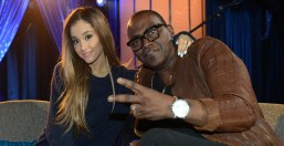 American Idol 2014 Top 5 Randy Jackson and Ariana Grande