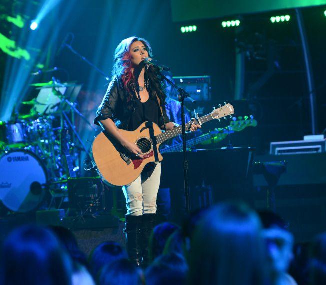 Jessica Meuse on American Idol Top 6