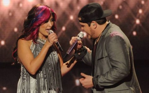 Jessica & Dexter duet on American Idol