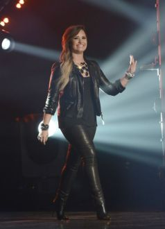 Demi Lovato on American Idol