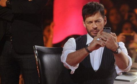 American Idol 2014 Harry Connick Jr. selfie
