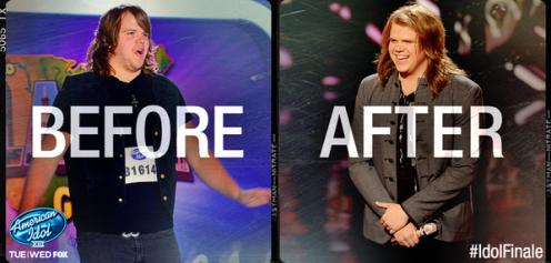 American Idol Finale Caleb Johnson Style