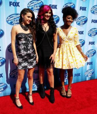American Idol Finale Kristen O'Connor Jessica Meuse Majesty Rose York