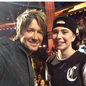 American Idol Finale MK Nobilette and Keith Urban