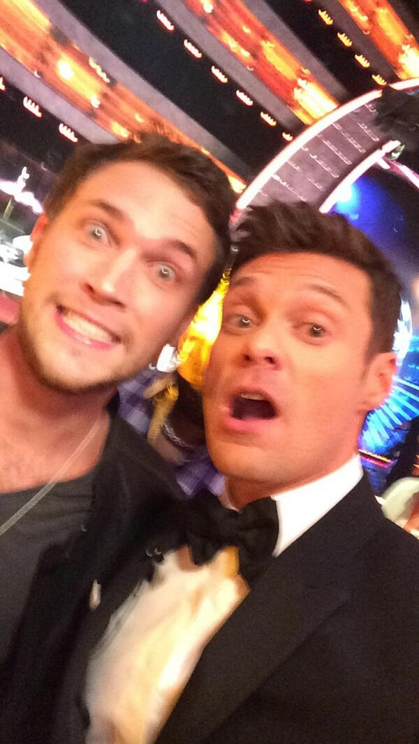 American Idol Finale Phillip Phillips and Ryan Seacrest