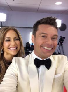 American Idol Finale Ryan Seacrest and Jennifer Lopez