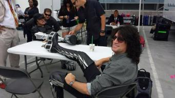 American Idol Finale Tommy Thayer of KISS