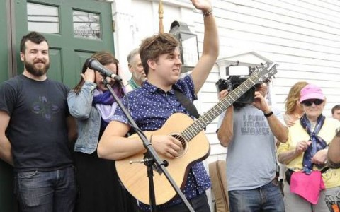 Alex Preston on his hometown visit tour