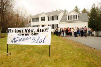 Alex Preston gets hometown support