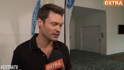 American Idol 2015 host Ryan Seacrest (Extra)
