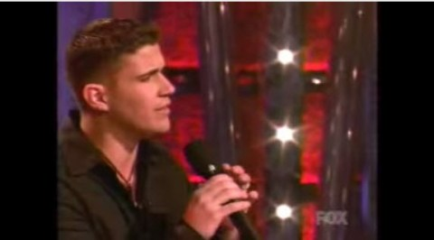 Josh Gracin on American Idol (FOX)