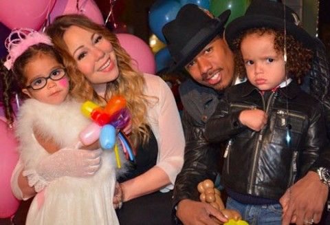 Mariah Carey and Nick Cannon (Instagram)
