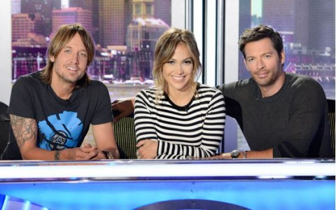 American Idol 2015 Judges on Season 14 - Source: FOX