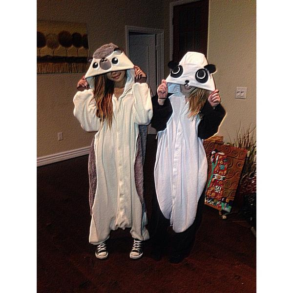 American Idol Jessica Sanchez and Holly Cavanagh Halloween Costumes