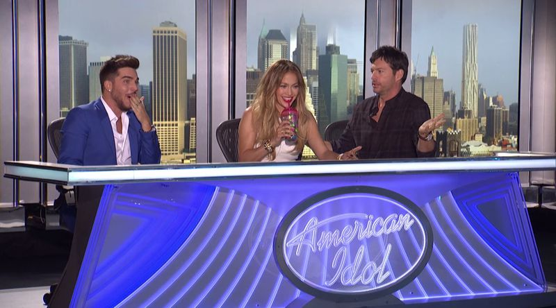 Adam Lambert at American Idol 2015 auditions – 02