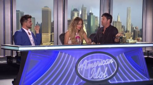 Adam Lambert at American Idol 2015 auditions - 03