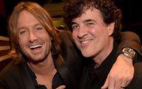 Scott Borchetta with American Idol Judge Keith Urban