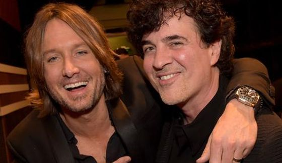 Scott Borchetta with American Idol Judge Keith Urban