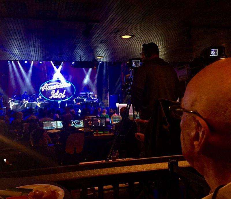 American Idol 2015 Showcase Week visit by Rupert Murdoch