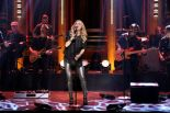 Carrie Underwood performs on The Tonight Show