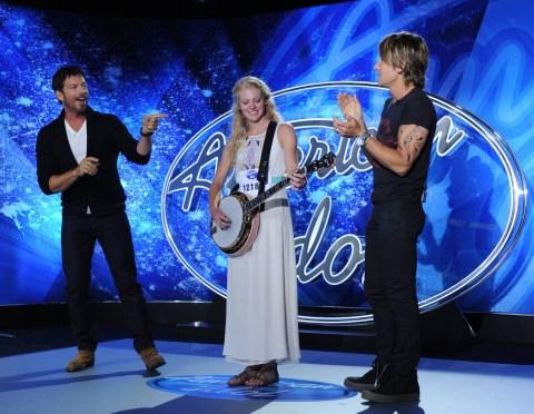 Ellen Petersen performs on American Idol 2015