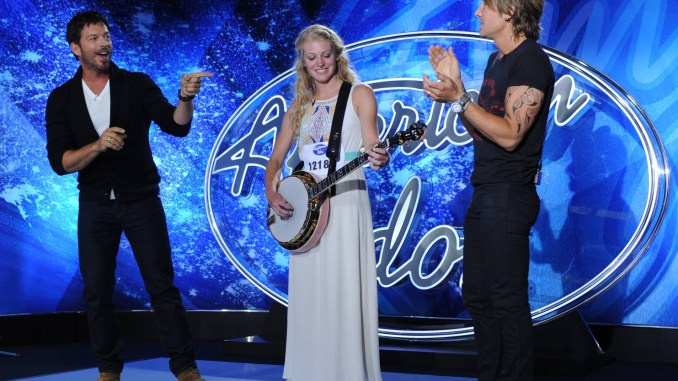 Ellen Petersen performs on American Idol 2015
