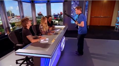 American Idol 2015 hopeful woos the judges in Nashville (FOX)