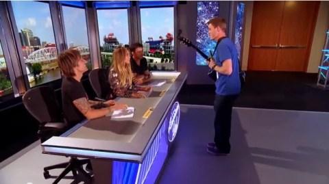 American Idol 2015 hopeful woos the judges in Nashville (FOX)