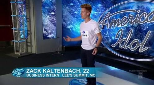 American Idol Zack Kaltenbach